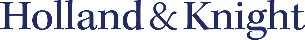 Logo that says Holland and Knight