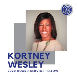 Portrait of Fellow Kortney Wesley