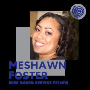Portrait of Fellow MeShawn Foster