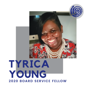 Portrait of Fellow Tyrica Young