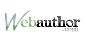 "Logo for WebAuthor.com - the logo is the words ""WebAuthor.com"" with the W of web capitalized"